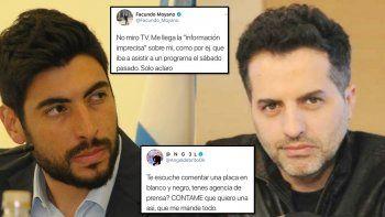 Ángel de Brito vs Facundo Moyano: Quiero la fórmula de Moyano para saber todo;  No miro TV