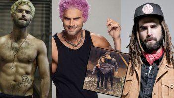 Luisana Lopilato y Nico Furtado con nuevo look