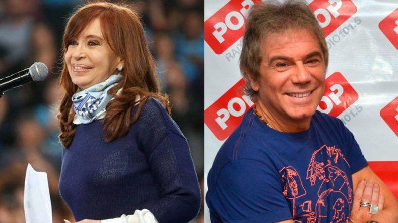 Beto Casella entrevistó a Cristina Kirchner en su programa de radio Pop