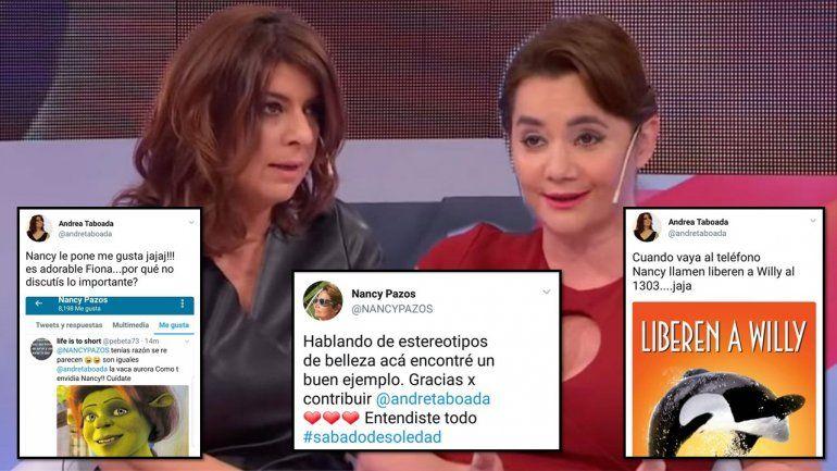 Señoras grandes se tratan de gordas y feas: Taboada bloqueó a Nancy Pazos en Twitter y se hacen ojo por ojo