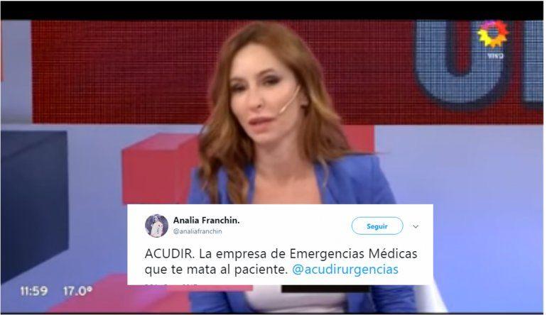 Analía Franchín denuncia mala praxis por la muerte de su padre: Le inyectaron algo contraindicado