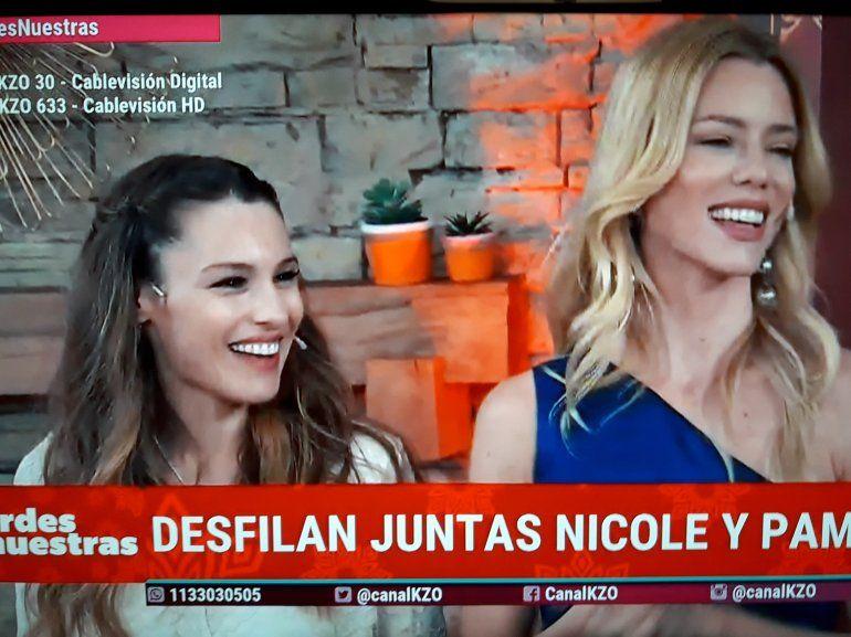 Después de hacer que toda la tele se pelee por ellas, Nicole y Pampita en una cumbre sin gracia pincharon el globo