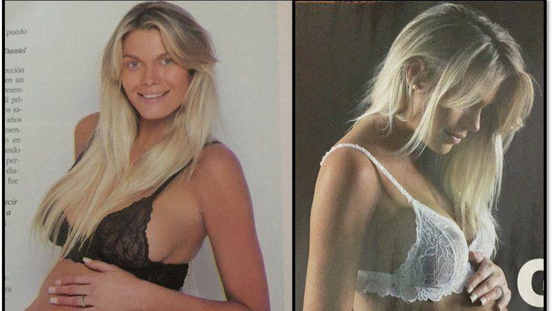 Mega panza de Gisela Berger, a punto de parir su hijo con Daniel Scioli