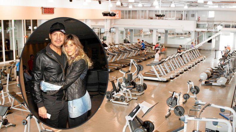 Lejos de la polémica tapa sobre su salud, Tinelli empezó el gimnasio y se anotó en Megatlon con Guillermina