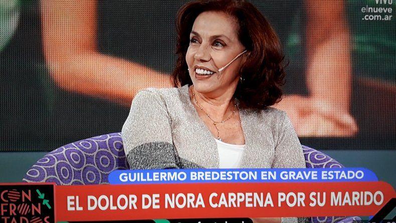 Nora Cárpena y una dura confesión sobre la polémica por la eutanasia a Bredeston