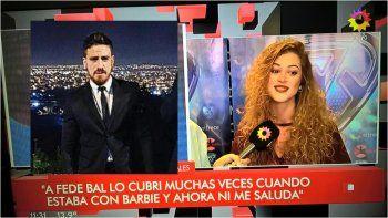 Anita Izaguirre contra Fede Bal: Lo cubrí cuando cuerneaba a Barbie Vélez
