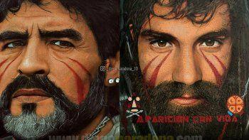 Maradona sobre Santiago Maldonado: volvemos a los años en que nos secuestraban y mataban