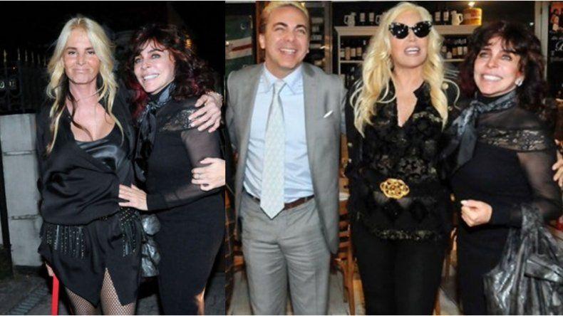 Verónica Castro festejó su cumple con Susana Giménez y su hijo en Buenos Aires