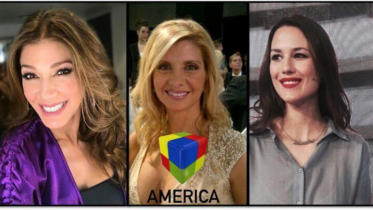 Fulop, Plager y Luli Fernández: las mañanas de América tienen cara de mujer