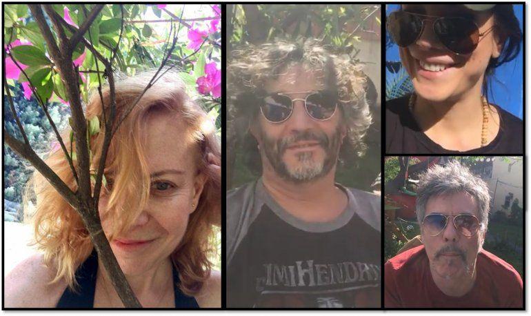 Andrea Rincón con Fito Páez y Cecilia Roth: el video después del voto