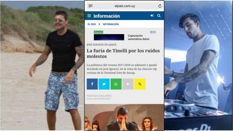 Otro dolor de cabeza para Tinelli: Denuncia en Uruguay al DJ novio de Charlotte por ruidos molestos