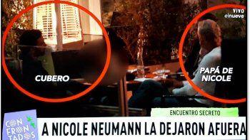 La traición a Nicole: su ex Poroto Cubero cenó con su padre