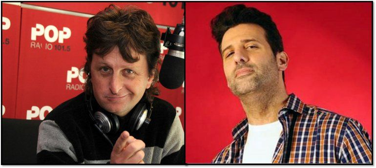 Otra guerra: Listorti y Diego Korol enfrentados por el horario de un programa de radio