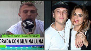 El Polaco habló sobre rumores de embarazo con Silvina Luna:  Pueden tener noticia en cualquier momento