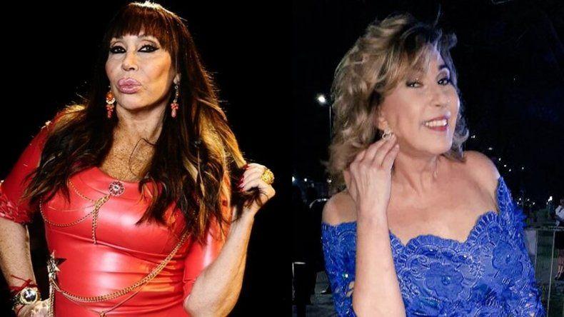 Georgina disparó contra Moria: Las únicas divas son Mirtha y Susana, bancatela