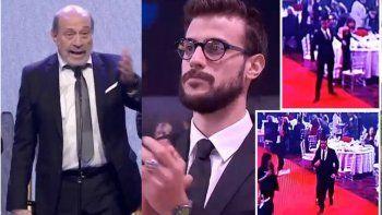 Martín Fierro de radio: gritos e insultos hacia Alfredo Leuco; fuerte reacción de su hijo