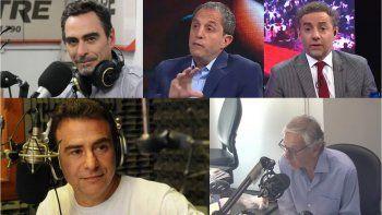 Todos contra todos: guerra de periodistas en las radios de la mañana por los discursos del Martín Fierro