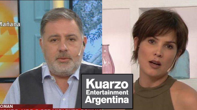 No la echaron: Doman quiere afuera a Úrsula Vargues pero Kuarzo no la despidió