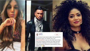 Guerra negra: Kate Rodríguez dijo que si le gusta el Tirri lo sandunguea y Mimi saltó enardecida