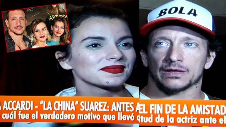 Nico Vázquez y Gimena accardi contaron la verdad de su pelea con China Suarez: Fue una decepción muy grande