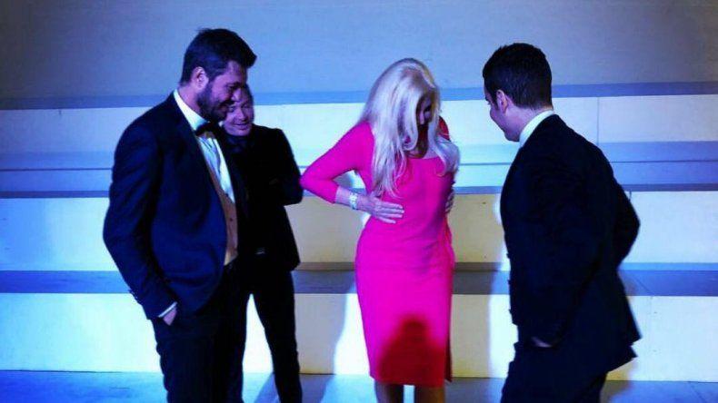 Susana, Tinelli, Suar y Del Moro posaron a solas para la tapa de Los personajes del año