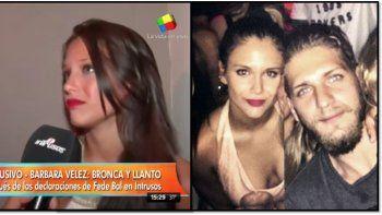 Así hablaba Barbie Vélez de Lucas Rodríguez:  El hijo de Fabián es como mi hermano