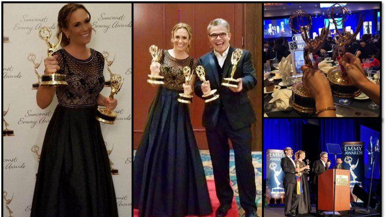 En una noche inolvidable, Natalia Denegri ganó dos Emmy