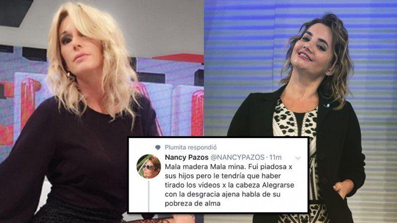Las redes furiosas contra Yanina Latorre: dicen que se burló al aire de Nancy Pazos por quedarse sin trabajo