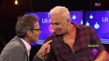 flavio mendoza dijo que no volveria a trabajar con iudica y beso a daniel malnatti