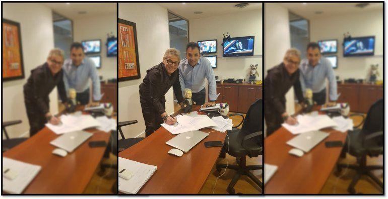 Beto Casella renovó su contrato con El Nueve hasta el 2020