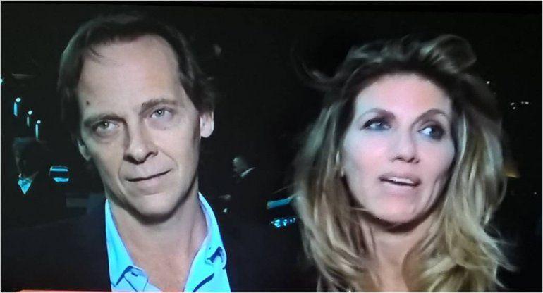 Matías Martin y su mujer, furiosos por la pregunta sobre el apodo de Muqui a Pampita