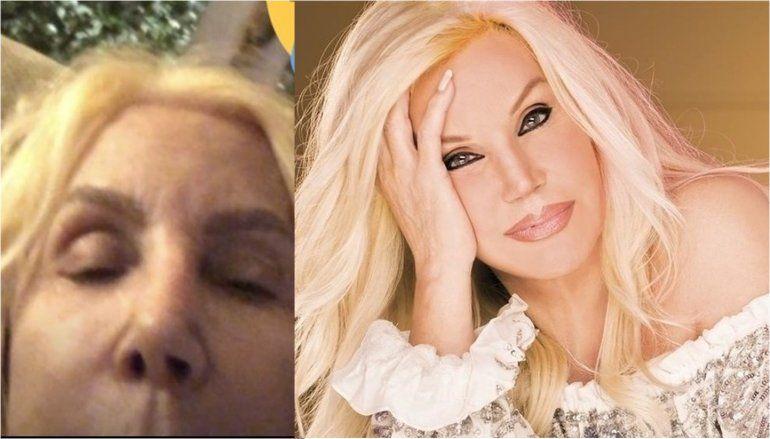 Susana y la peor cara: publicó una historia por error, estaba sin maquillaje y parecía otra