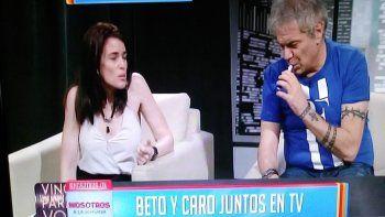 Beto Casella dio una nota con su mujer