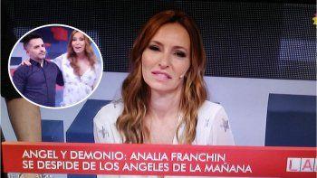 Analía Franchín se despidió de LAM: ¿se va a Intrusos en 2018?