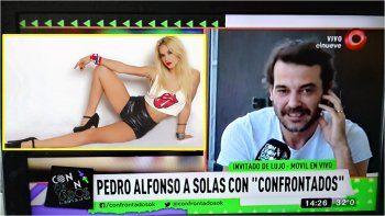 Pedro Alfonso habló de los rumores que lo vinculan a Flor Vigna