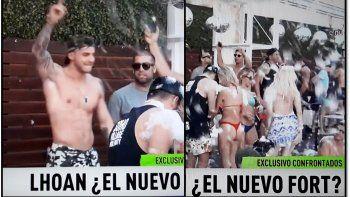 Pool party de Lohan en Carlos Paz como el nuevo Fort seco: Imágenes