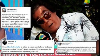 Los famosos criticaron fuerte a la frase de Cacho Castaña