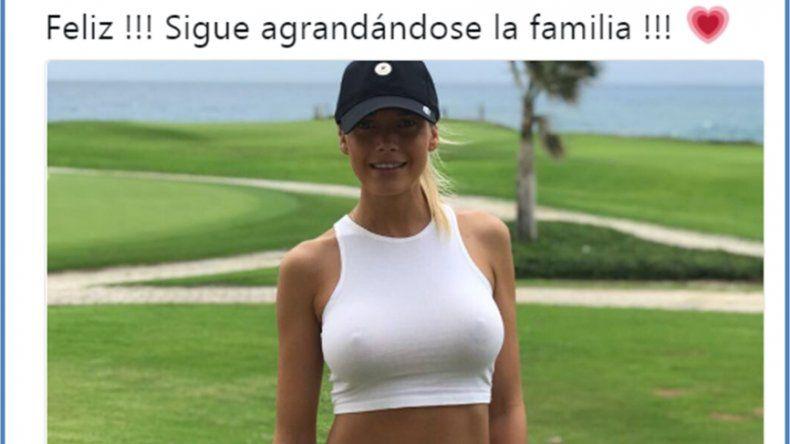 Gisela Berger, ¿embarazada?: Feliz!! sigue agrandándose la familia