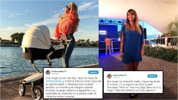 Luciana Salazar le respondió fuerte a Amalia Granata: Dejá de meterte con hijos ajenos