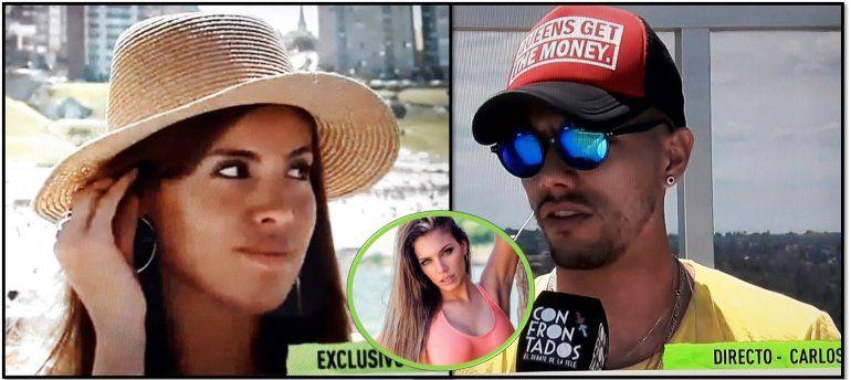 Tyago Griffo destrozó a Rocío Robles y se levantó en vivo a una cantante