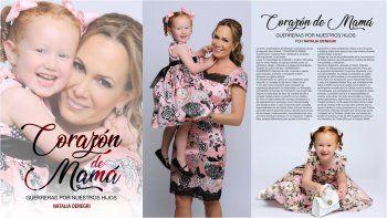 Otro éxito en la vida de Natalia Denegri: presenta su segundo libro Corazón de mamá