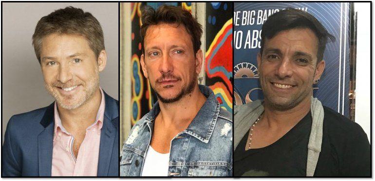 Suar estará acompañado por dos co conductores de lujo en Fox: Martín Bossi y Nico Vazquez