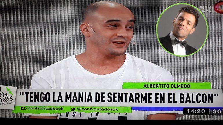 Albertito Olmedo: Mi mamá me pidió que me aleje de los balcones