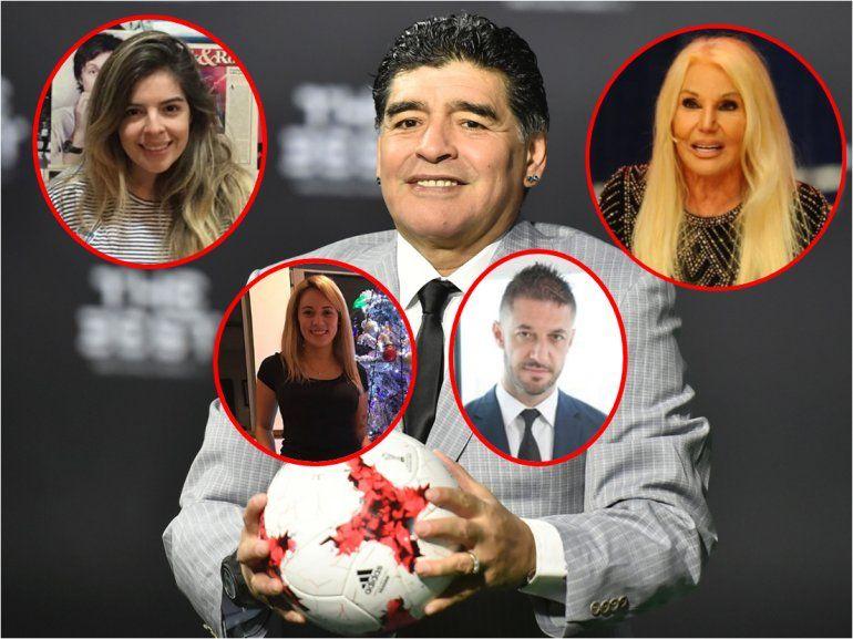 El abogado de Maradona: Diego no quiere ir al casamiento de Dalma y ¿se amiga con Susana al aire?