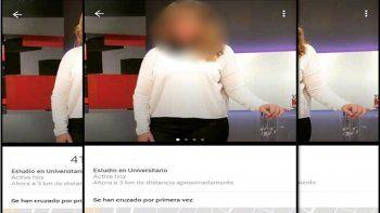 Una angelita de LAM busca novio en Tinder: mirá quién es