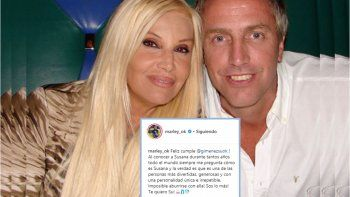 Marley saludó a Susana por su cumpleaños en las redes: Una persona divertida