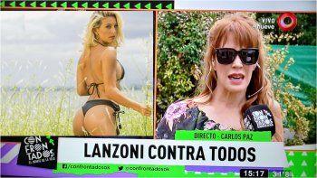 Miriam Lanzoni contra Sol Pérez: La gente elige ir a verla por la cola