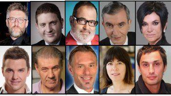 ¿Quiénes son los diez periodistas más creíbles de la Argentina y qué puesto ocupa cada uno?
