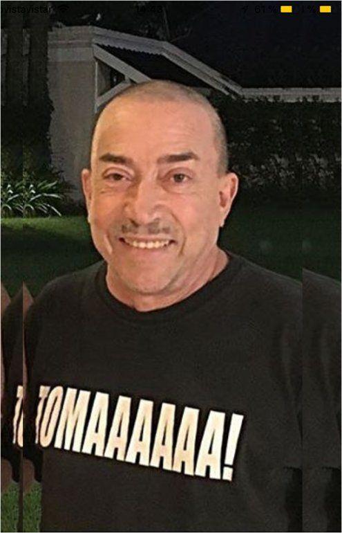 Después de su enfermedad, reapareció Aníbal Pachano