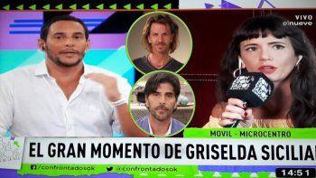 Griselda Siciliani: No la pasé genial con Darthés y lo de Facundo Arana fue una burrada